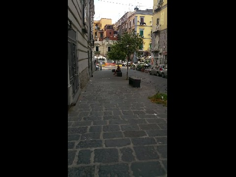 The streets of Naples