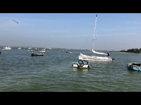 Crabbing on Mersea Island