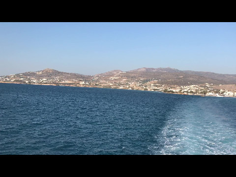 Ferry crossing to Antiparos