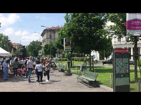 Sunny Milan, May 2018