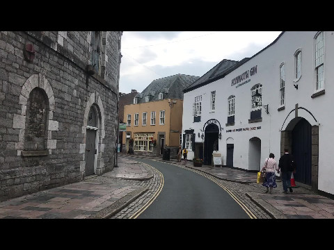 A Walk along the Barbican in Plymouth