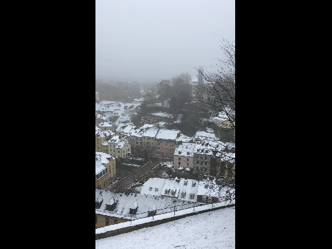Snowy Luxembourg