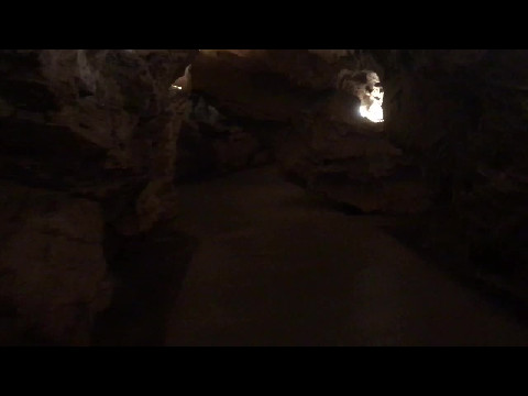 Inside Gough's Cave at Cheddar Gorge