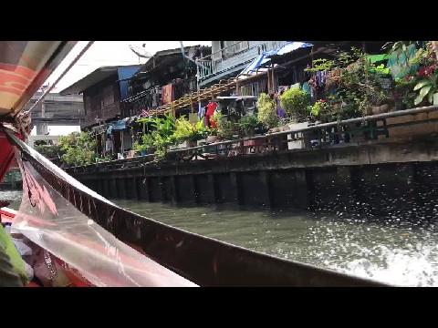 Bangkok Canal Ride