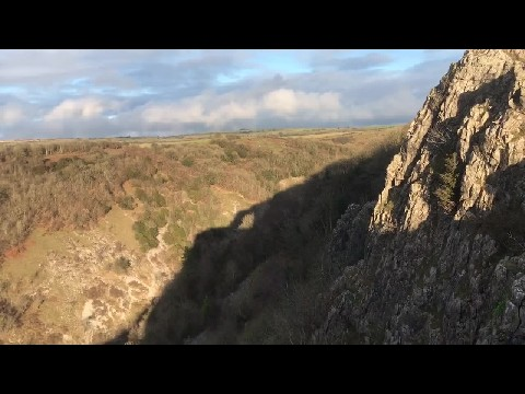 Cheddar Gorge Clifftop Walk, Somerset, UK