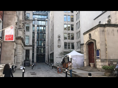 Hidden corner of London