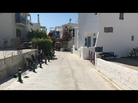 Walking to Agia Anna beach