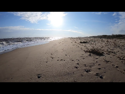 Hopton beach walk