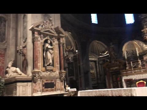Inside Santissima Annunziata