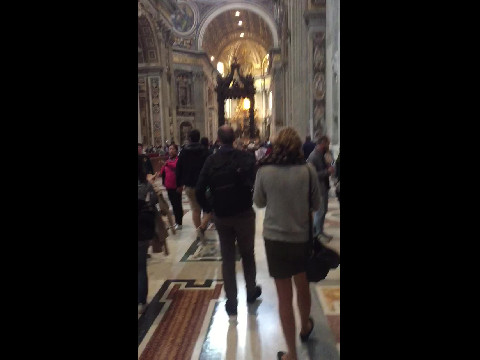 Basilica at Vatican City