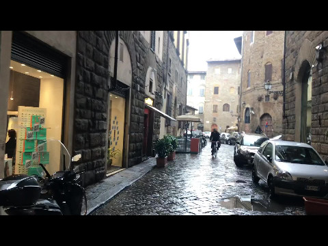 City streets, Florence