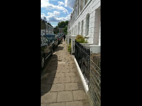 Islington Cruden Street, St Peter's Street and Colebrook Row