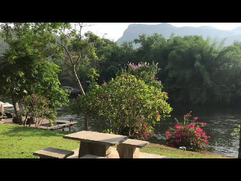 Peace & tranquility on the River Kwae