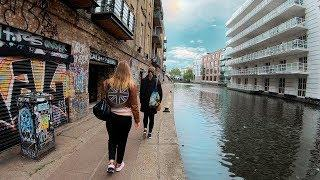 London Walk, from Little Venice to Camden Town — Virtual Walking Tour【4K】